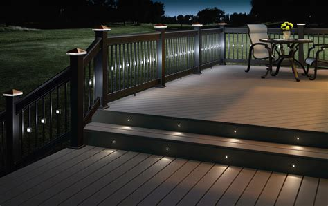 Outdoor Rail Lighting Led Deck Lights And Why You Should Use Them Interior Design Ideas