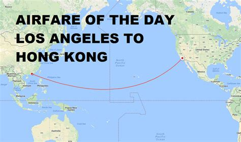 airfare of the day american airlines los angeles to hong kong economy class 445 trip
