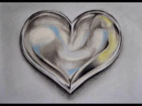 imagenes de corazones metalicos como dibujar un coraz 211 n de metal youtube