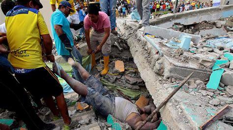 imagenes sorprendentes del terremoto en ecuador las fotos m 225 s impactantes del terremoto de 7 8 en ecuador