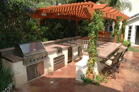 Ideas For Small Kitchen Islands 10 outdoor kitchen design ideas always in trend always