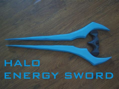 How To Make A Paper Energy Sword - halo energy sword do it yourself