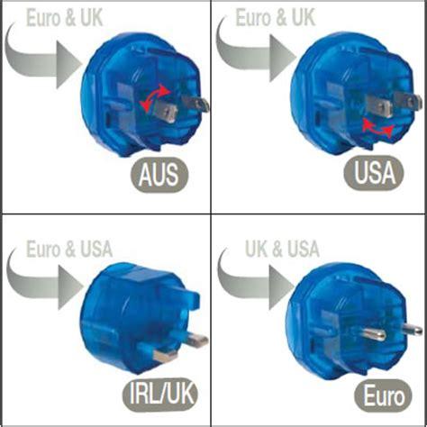 Steker World Universal Travel Adapter All In One h 228 hnel world travel reisestecker kit stromstecker adapter