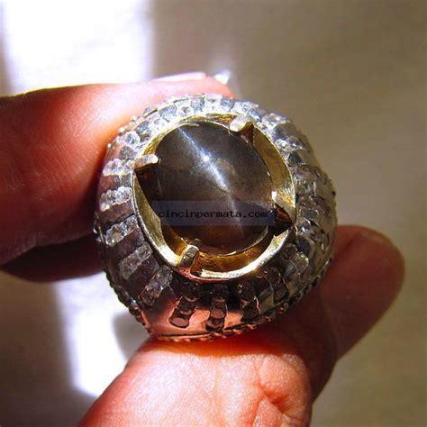 Cincin Permata Zircon 2 cincin batu permata black cats eye cincinpermata