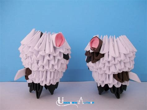 3d Origami Cow - 3d origami c album unknown author 3d origami