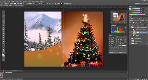 tutorial photoshop navidad como hacer una tarjeta de navidad con photoshop tutorial