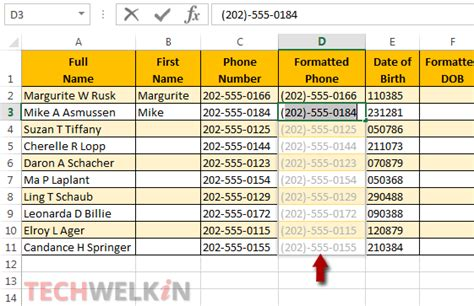 flash tutorial with exle excel flash fill tutorial and exles