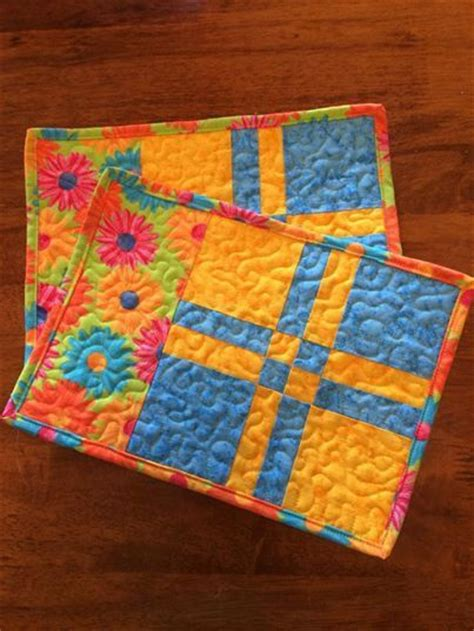 free pattern quilted coasters 36 best images about placemats and mugrugs on pinterest