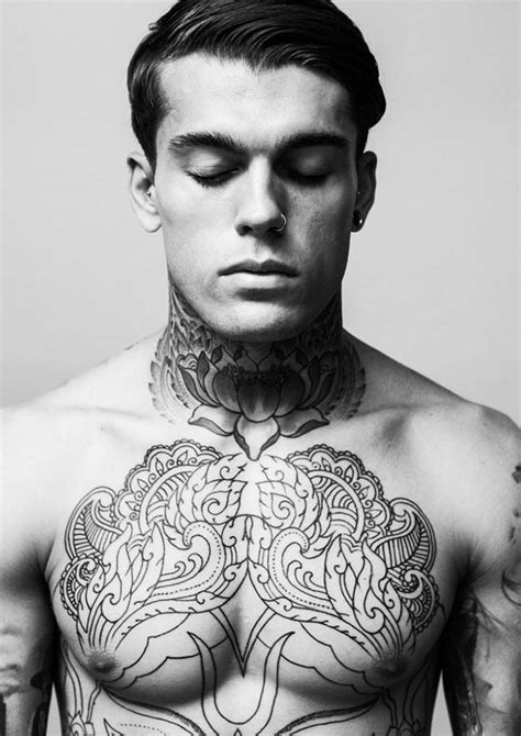 model with tattoos stephen by darren black