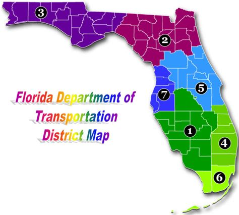 fdot district map fdot roadway design office bicycle and pedestrian