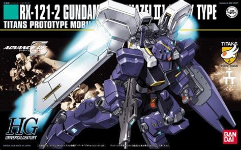 Rx 121 2 Gundam Tr 1 Hazel Ll Bandai bandai hg hguc rx 121 2 gundam tr 1 hazel 2 advance of z 1 144 scale kit japan ebay