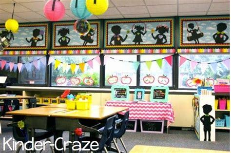 rainbow chalkboard classroom decor  theme  schoolgirl