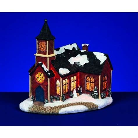 premier traditions christmas lights premier decorations illuminated snowy church with clock tower indoor from lights at