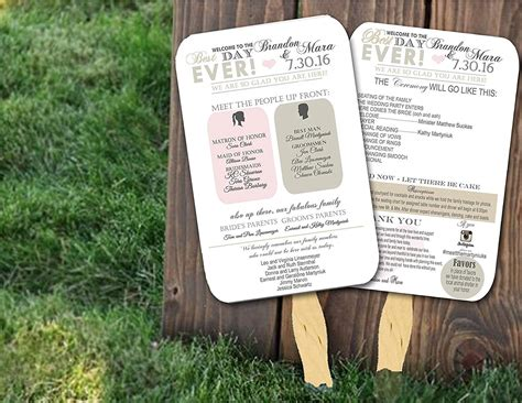 wedding ceremony program ideas top 10 best wedding programs to buy