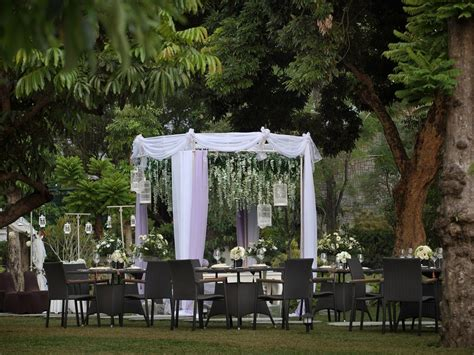 Wedding Yogyakarta by Ballroom Outdoor Wedding Venue Jogja Royal Ambarrukmo
