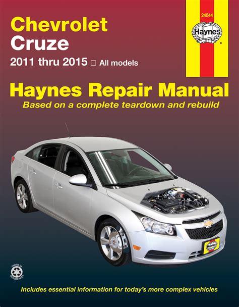 car service manuals pdf 2011 chevrolet cruze electronic toll collection chevrolet cruze 11 15 haynes repair manual haynes manuals