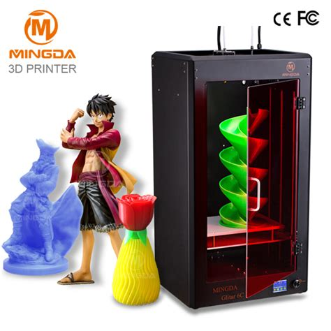 color 3d printer dhl free shipping high accuracy mingda metal 3d