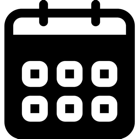 calendar symbol interface icons