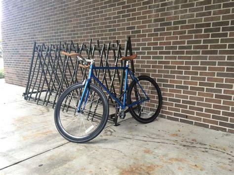 Artistic Bike Racks by Unf Spinnaker Unf Students Make Artistic Bike Racks For