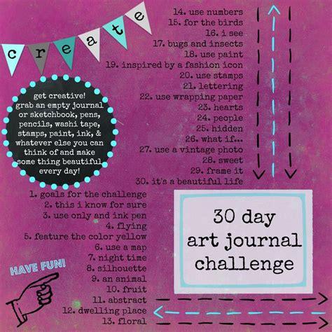 30 day journal ideas journals