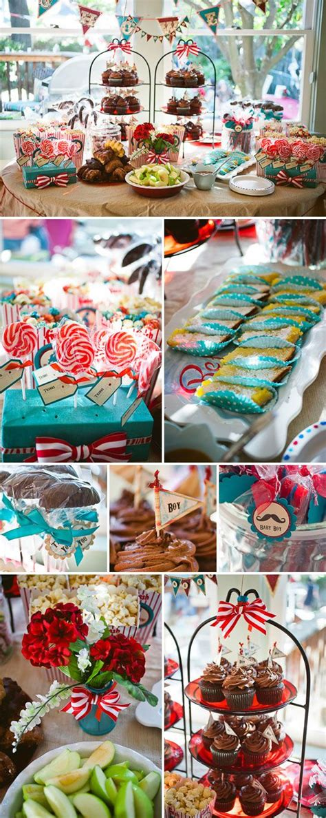 Baby Shower Interactive by Festive Interactive Vintage Circus Themed Baby Shower