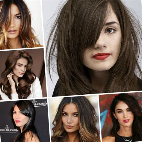 hairstyles and colours for brunettes fall hair colors for brunettes 2018