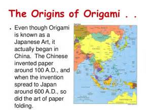 The History Of Origami In Japan - origami