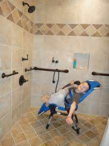 How We Remodeled Our Bathroom To Make It Accessible Handicap Shower Chair Lowes