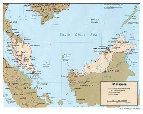map of malaysia malaysia maps perry casta 241 eda map collection ut library