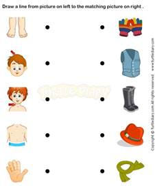 body unit match clothes to body parts healthy bodies