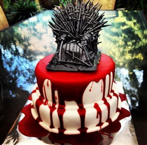 blood drenched of thrones wedding cake geektyrant