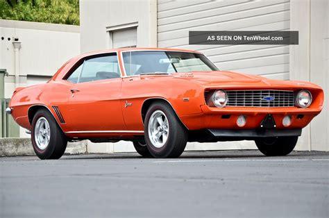 copo camaro 1969 1969 chevrolet copo camaro tribute 427 4 speed nut bolt