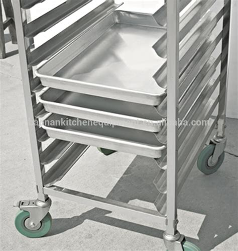 New Commercial Kitchen 6 Tiers Bun Pan Rack With Wheels