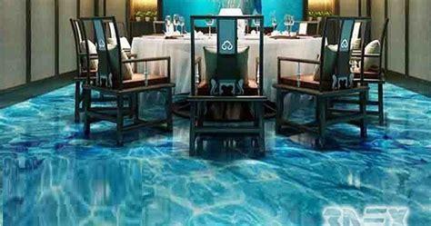 Should we install 3D Epoxy Flooring in restaurants, shops