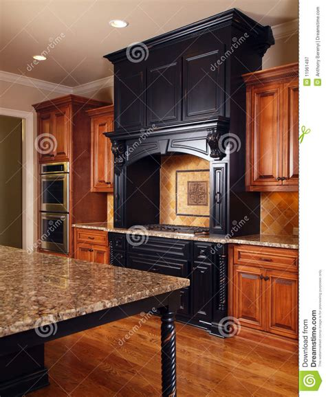 october 2009 housetrained homes interiors domestic model luxury home interior kitchen royalty free stock