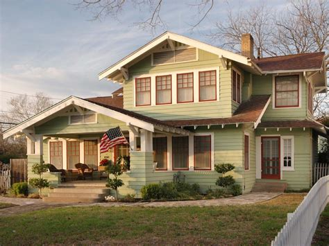 arts and crafts style home arts and crafts architecture hgtv