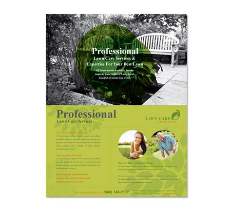 lawn care services flyer template dlayouts graphic