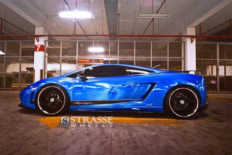 Lamborghini Lp540 Lamborghini Gallardo Lp540 Superleggera By Strasse Wheels