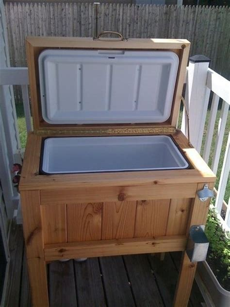diy patio deck cooler standapplepins