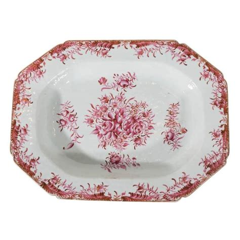 antique porcelain l with roses antique porcelain platter painted with