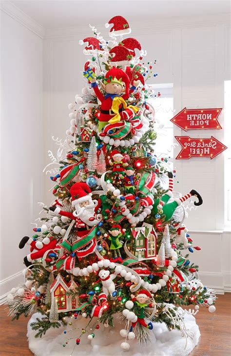 arboles de navidad decorados 2016 2017 80 fotos y tendencias - Decorados De Arboles De Navidad