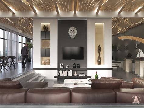 deco interior design modern house