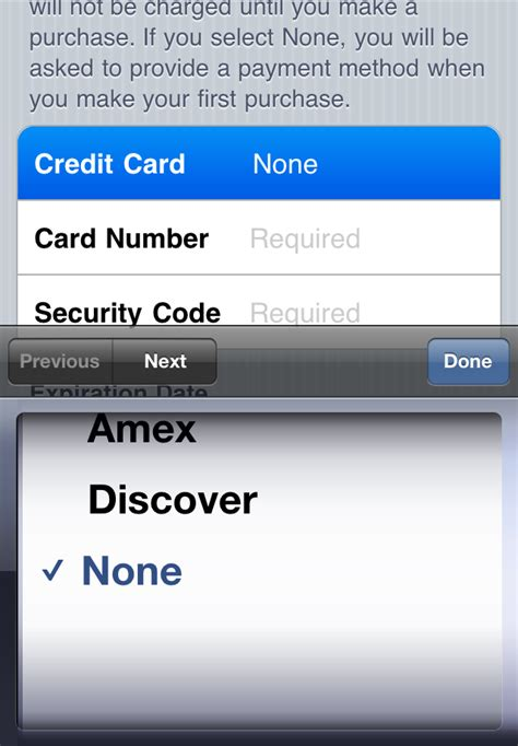 Sle Credit Card Number For Apple Id Creating An Itunes App Store Account Without A Credit Card Gsm Forum