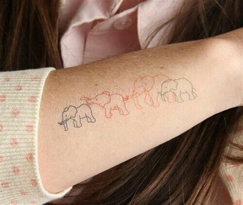 elephant family tattoo pin by carriebeth forrester on tattoos elephant family