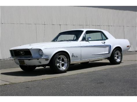 white 1968 mustang 1968 ford mustang coupe white www imgarcade