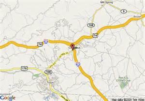 tryon carolina map map of days inn columbus tryon columbus