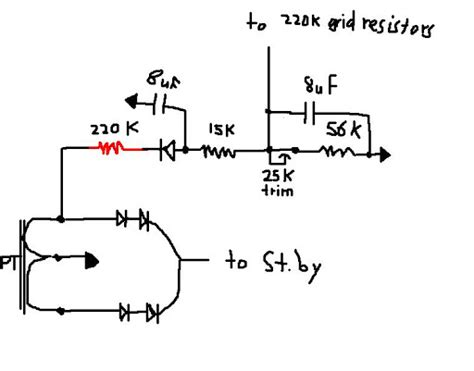 220k grid resistor 5f6 a solid state rectification