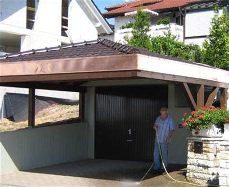 carport rottweil wulf systeme alu glas holz angebot carports garagen
