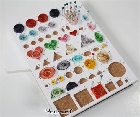 templates for quilling quilling circle template board i ordered mine on ebay