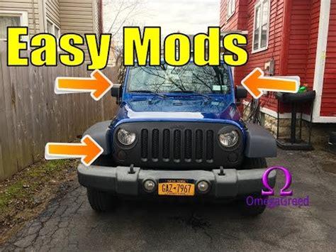 jeep wrangler cheap mods   jeep wrangler cheap